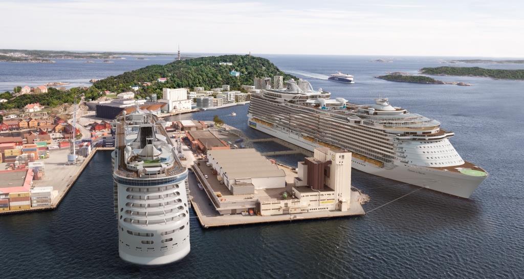 Neue Pier in Kristiansand