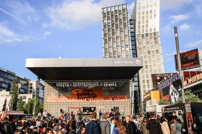 Food Truck Festival, Reeperbahn Hamburg. ©Susanne Baade