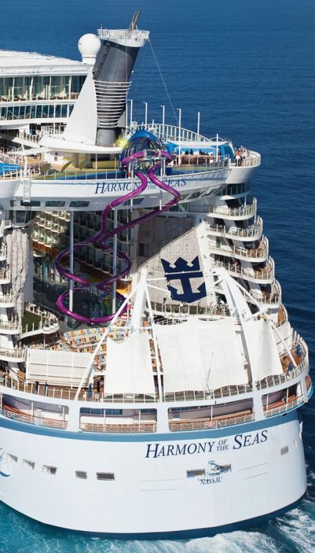 Riesen-Wasserrutsche für die «Harmony of the Seas»