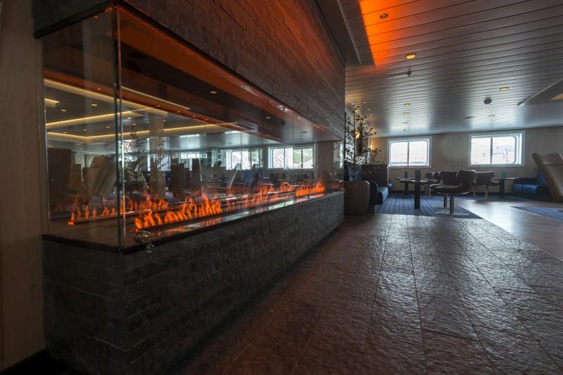 Die Explorer Bar auf der SPITSBERGEN. Foto: Hurtigruten