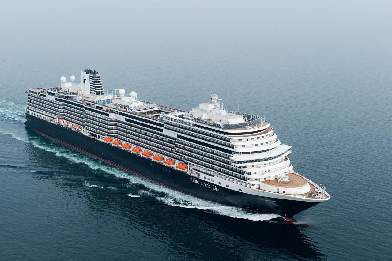 Die KONINGSDAM kurz vor Venedig. Foto: Holland America Line
