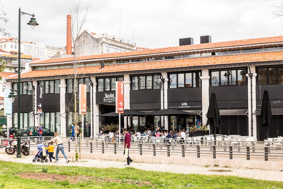 Time Out Market da Ribeira in Lissabon am Cais do Sodre. Alte Markthalle. ©Susanne Baade/MORE THAN CRUISES