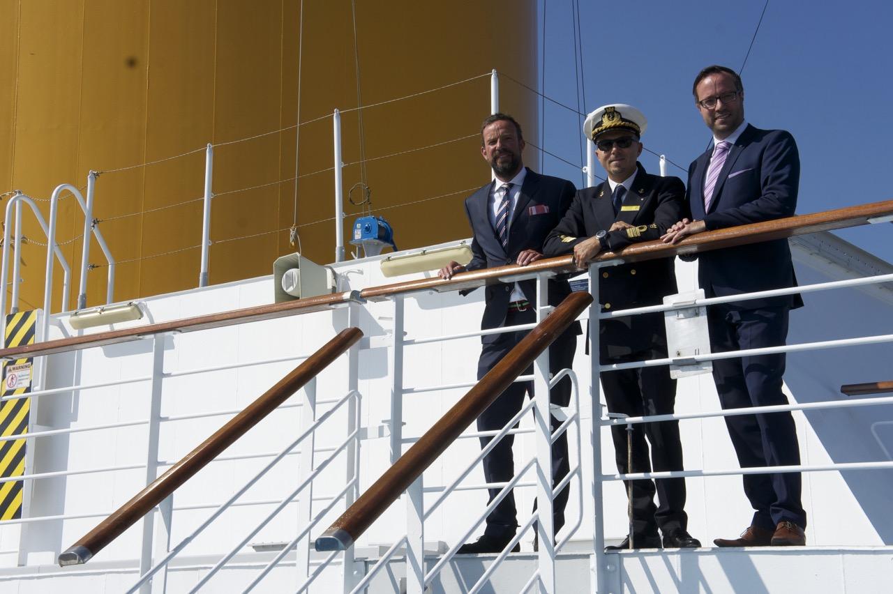 Captain Paolo Viscafé Costa Pacifica