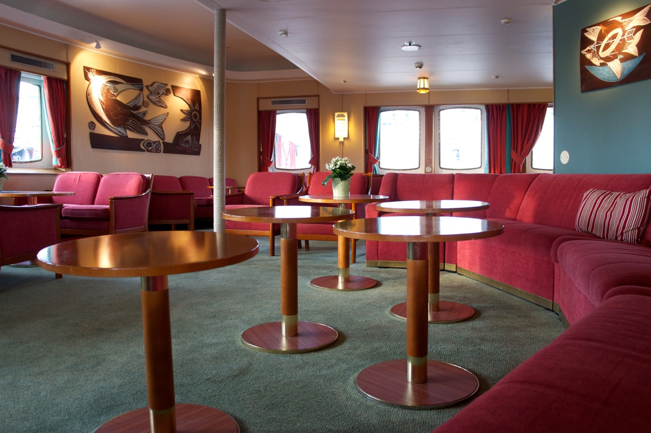 Salon der MS NORDSTJERNEN Foto: MORE THAN CRUISES