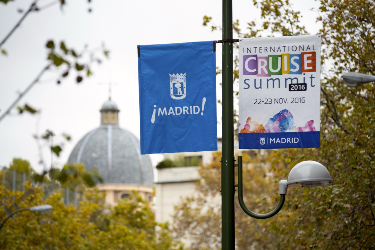International Cruise Summit 2016 in Madrid Foto: Cruises News Media