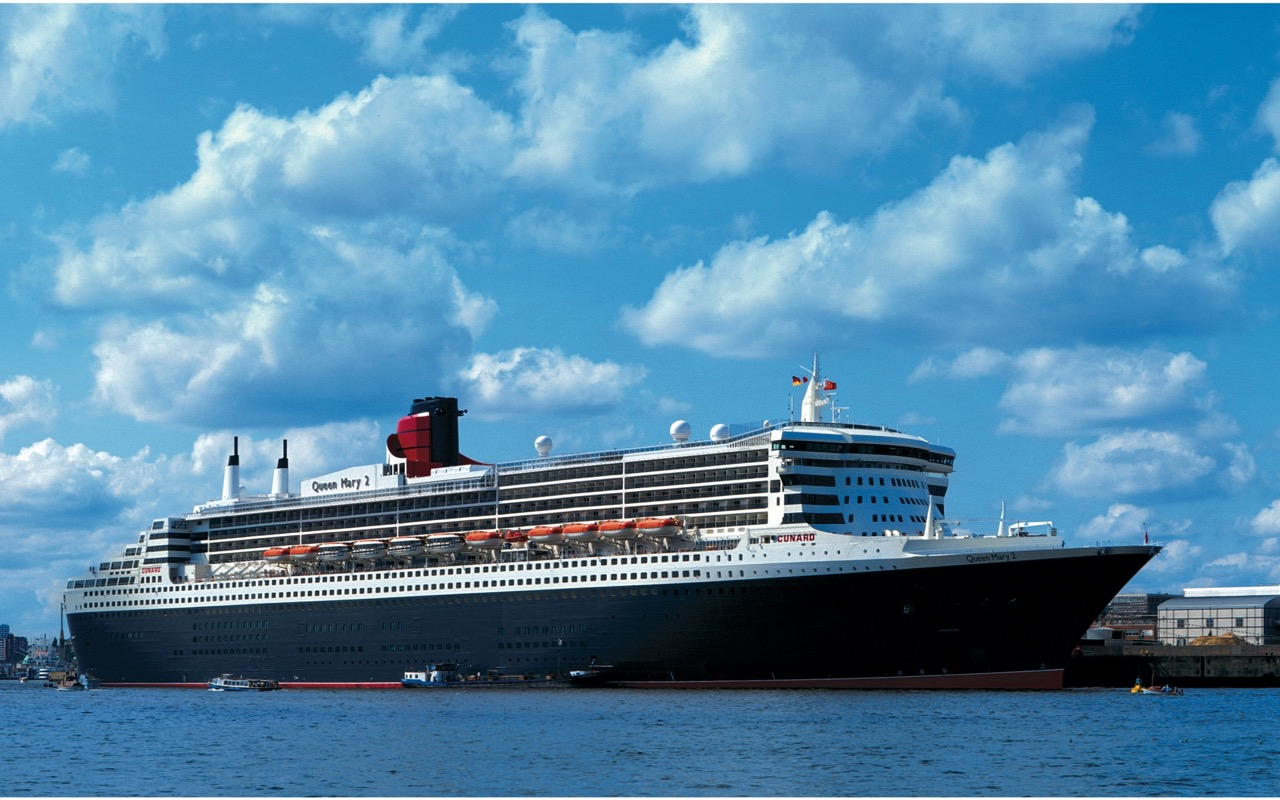 QUEEN MARY 2 in Hamburg Foto: Cunard Line