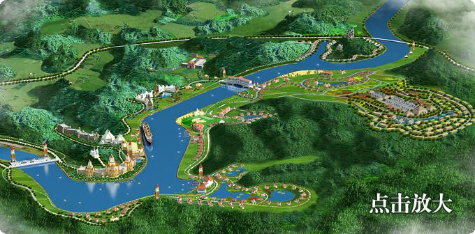 Die Pläne für das Resort sehen in der Mitte einen Liegeplatz für die TITANIC vor. Foto: Romandisea Seven Stars International Cultural Tourism Resort