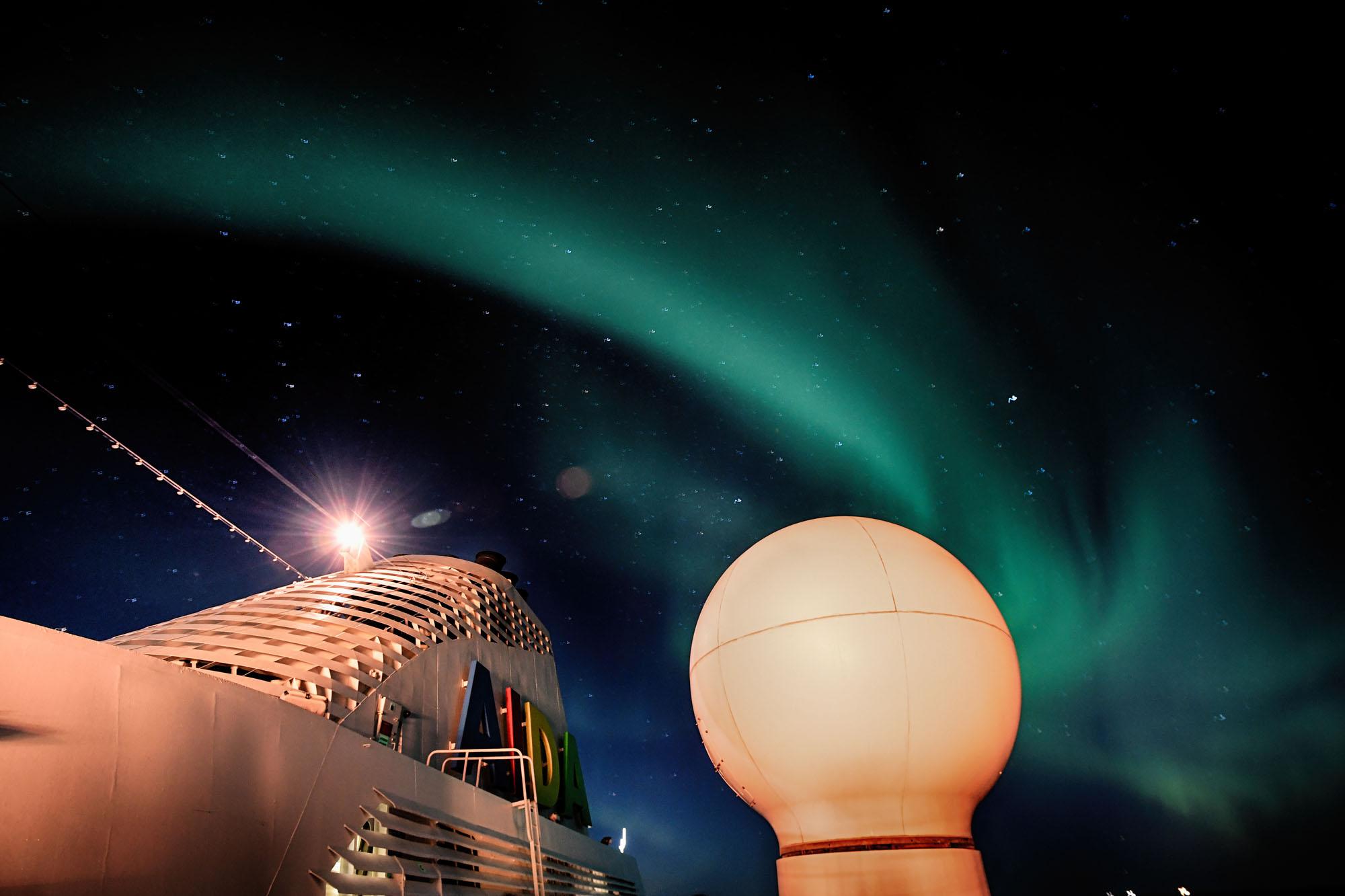 Nordlichter Foto: Aida Cruises