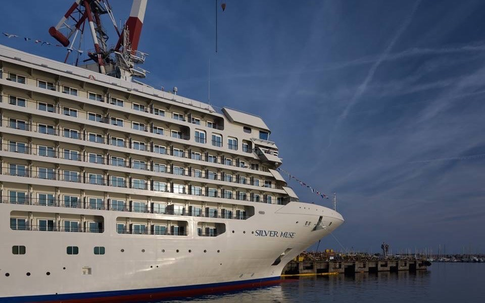 SILVER MUSE in Genua Foto: Silversea Cruises