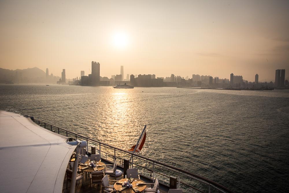 Hongkong - Singapur mit EUROPA 2 von Hapag-Lloyd Cruises. Besuch von Hongkong