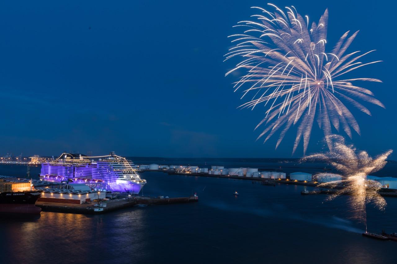 Taufzeremonie MSC MERAVIGLIA in Le Havre/Frankreich   Foto: MSC Cruises