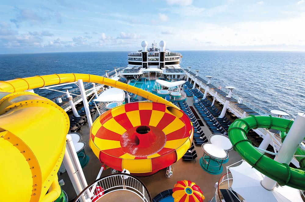 NORWEGIAN EPIC unterwegs im Mittelmeer, Norwegian Cruise Line.