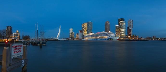 AIDAprima: die lange Nacht in Hamburg