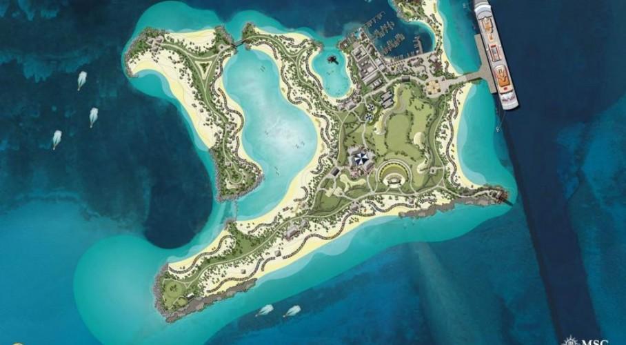 Karibik-Insel nur für Kreuzfahrer: Ocean Cay von MSC
