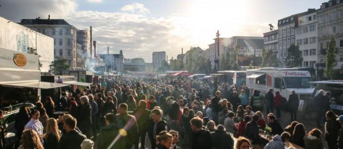 Hamburg: Straßenmampf in St. Pauli – Food-Truck Festival an der Reeperbahn