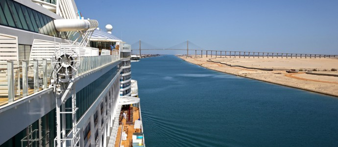 Neues Kreuzfahrtschiff: AIDA PRIMA im Mittelmeer