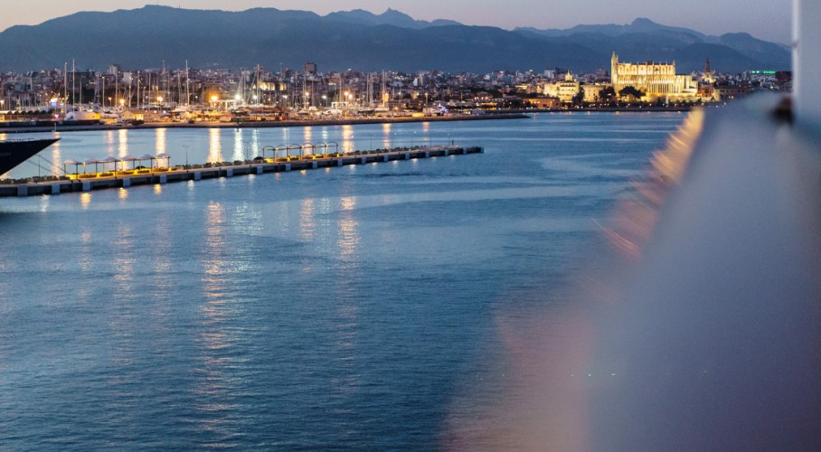 Testfahrt im neuen Revier: mit AIDA PERLA ab Palma de Mallorca