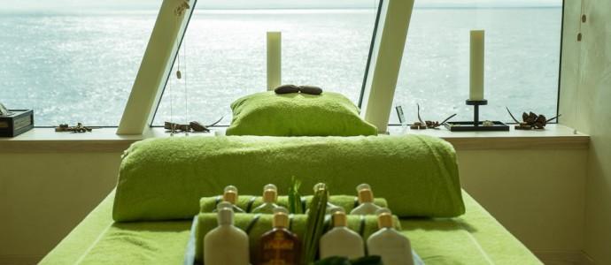 Entspannung mit Meerblick: Wellness im Organic Spa der AIDA PRIMA