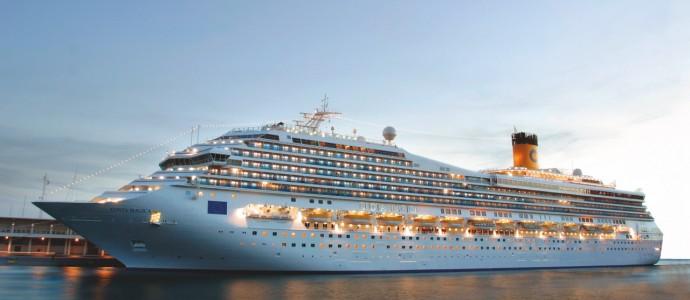 Erstanlauf COSTA MAGICA in Bremerhaven am 30. Mai