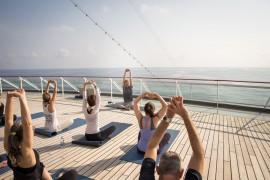 Kochen, Yoga & Boxen: In2Balance – Achtsamkeit mit MS EUROPA 2