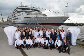 Sterne über Hamburg: Auszeichnung für MS EUROPA beim Gourmet-Event