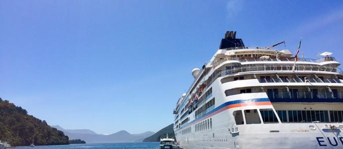 Downunder, deluxe. Teil 4: Mit MS EUROPA zu Vulkanen, Traumstränden und nach Auckland