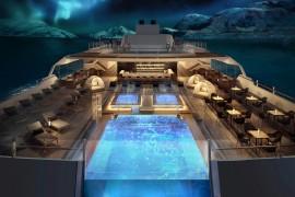 Hurtigruten baut das weltweit erste Expeditionsschiff mit Hybrid-Antrieb
