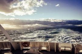 Downunder, deluxe. Teil 3: mit MS EUROPA von Tasmanien nach Neuseeland