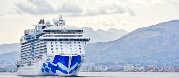 Test-Cruise vor der Jungfernfahrt – Überführung der Majestic Princess mit Passagieren an Bord