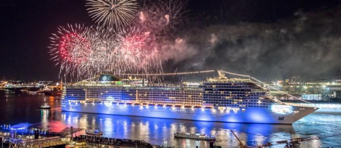 MSC MERAVIGLIA kommt 2018 nach Hamburg