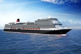 Cunard: ein neues Schiff in der Flotte von QUEEN MARY 2, QUEEN VICTORIA und QUEEN ELIZABETH