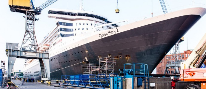 QUEEN MARY 2 – Spende an Hilfsorganisation