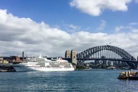 Downunder, deluxe. Teil 1: mit MS EUROPA von Sydney nach Auckland