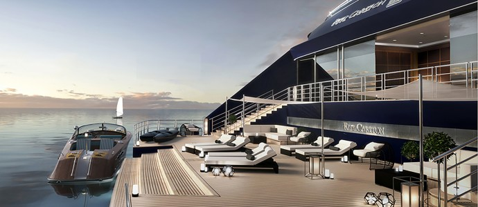 Ein Luxus-Hotel sticht in See: RITZ CARLTON YACHT COLLECTION