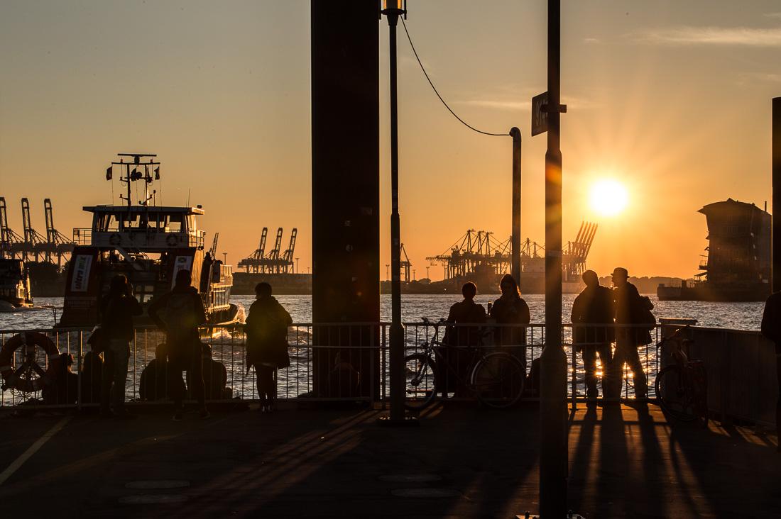 Hamburger Hafen. ©Susanne Baade, The Smiling Moon