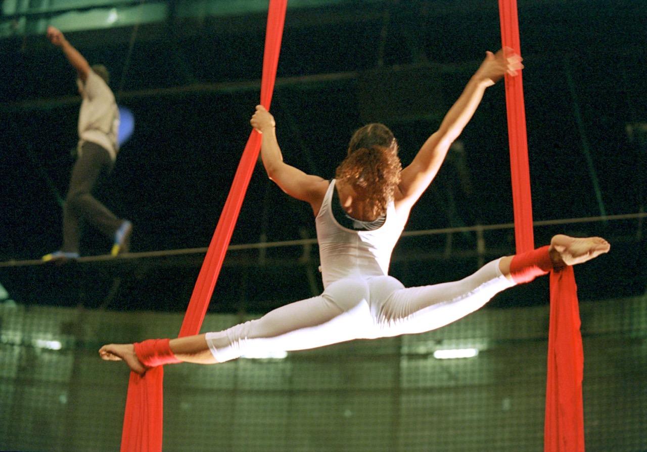 Luftballett-Proben Cirque du Soleil    Foto. Cirque du Soleil